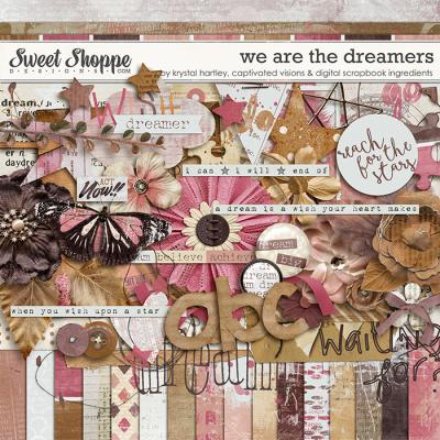 We are the dreamers by Krystal Hartley, Captivated Visions and Digital Scrapbook Ingredients