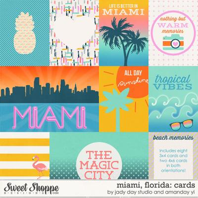 Miami, Florida : Cards by Jady Day Studio & Amanda Yi