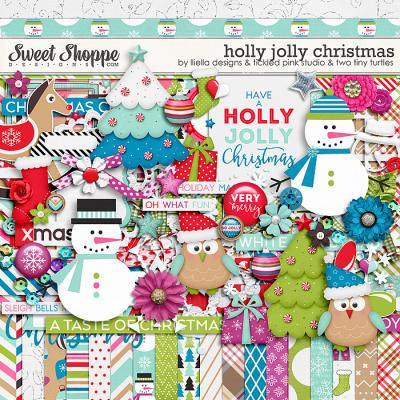 Holly Jolly Christmas by Lliella Designs, Tickled Pink Studio & Two Tiny Turtles