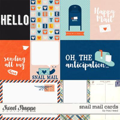 Snail Mail Cards by Traci Reed