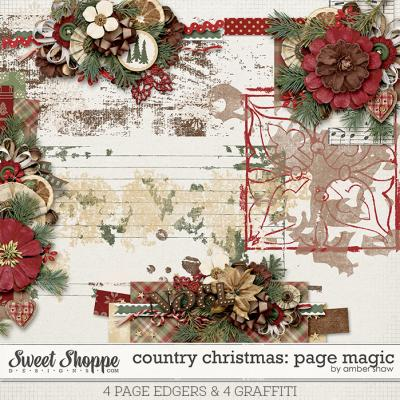 Country Christmas Page Magic by Amber Shaw