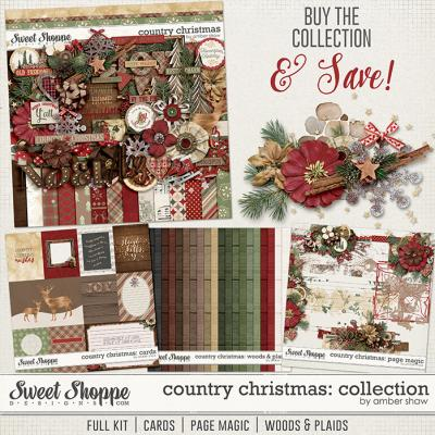 Country Christmas Collection by Amber Shaw