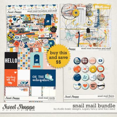 Snail Mail Bundle by Studio Basic, Sugary Fancy and Traci Reed