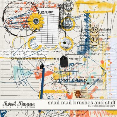 Snail Mail Brushes And Stuff by Studio Basic