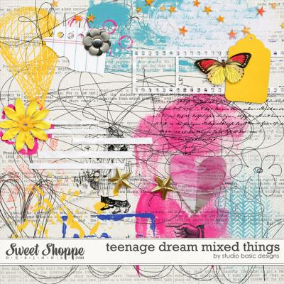 Teenage Dream Mixed Things by Studio Basic