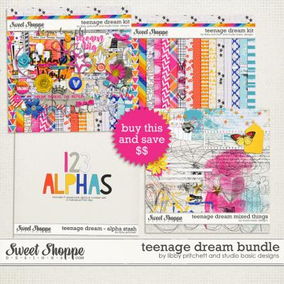 Teenage Dream Bundle by Studio Basic Designs and Libby Pritchett