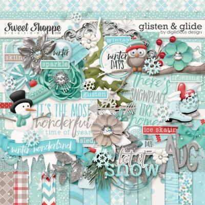Glisten and Glide {Kit} by Digilicious Design