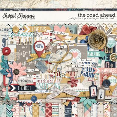 The Road Ahead by Digital Scrapbook Ingredients & Kim B