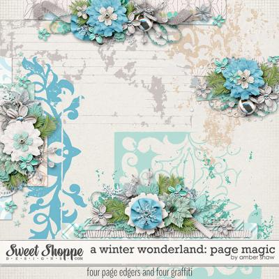 A Winter Wonderland: Page Magic by Amber Shaw