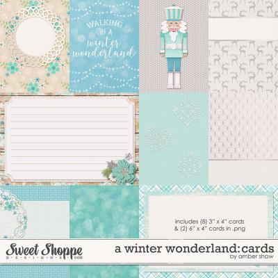 A Winter Wonderland: Cards by Amber Shaw