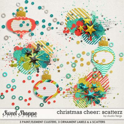 christmas cheer: SCATTERZ by Studio Flergs