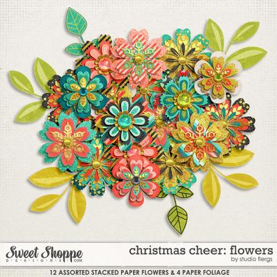 christmas cheer: FLOWERS by Studio Flergs
