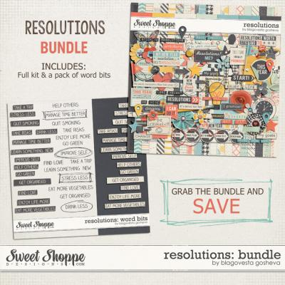 Resolutions: Bundle