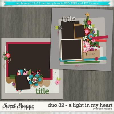 Brook's Templates - Duo 32 - A Light in My Heart by Brook Magee