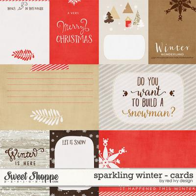 Sparkling Winter - Cards - by Red Ivy Design