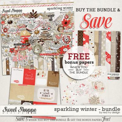 Sparkling Winter - Bundle - by Red Ivy Design