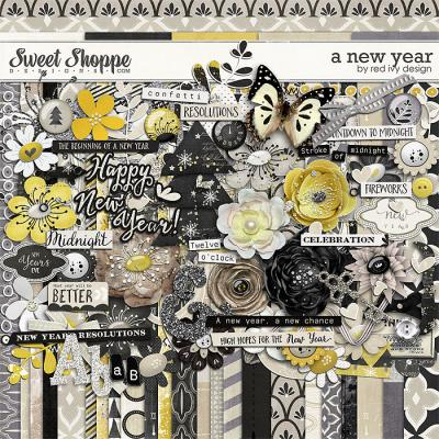 A New Year by Red Ivy Design