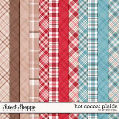 Hot Cocoa: Plaids by Amber Shaw