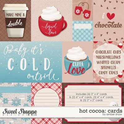 Hot Cocoa: Cards by Amber Shaw