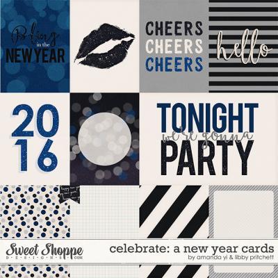 Celebrate: A New Year : Cards by Amanda Yi & Libby Pritchett