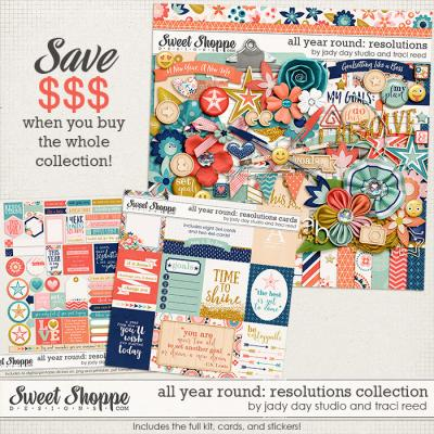 All Year Round: Resolutions Collection by Traci Reed and Jady Day Studio