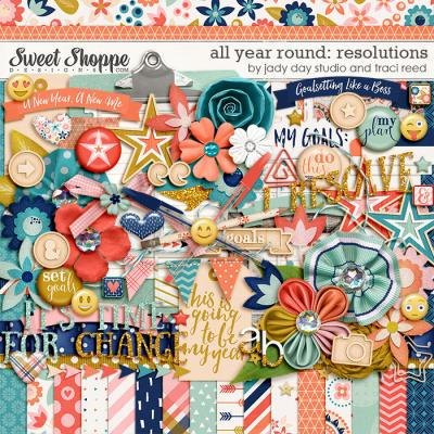 All Year Round: Resolutions by Traci Reed and Jady Day Studio