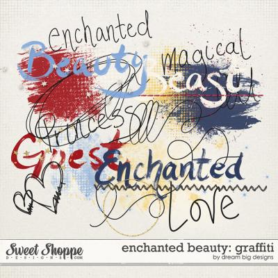 Enchanted Beauty: Graffiti by Dream Big Designs