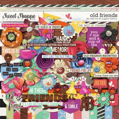 Old Friends by Sugary Fancy and Red Ivy Design