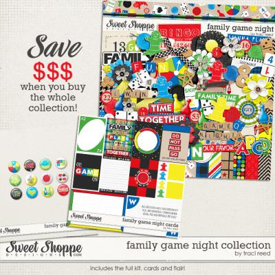 Family Game Night Collection by Traci Reed
