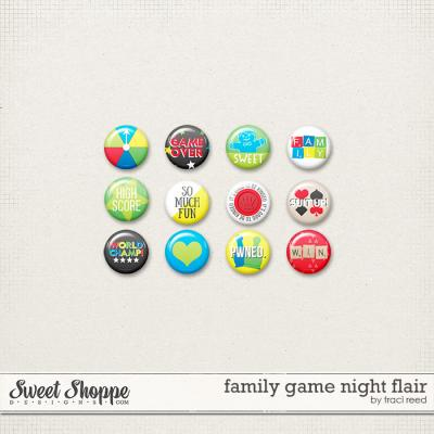 Family Game Night Flair by Traci Reed