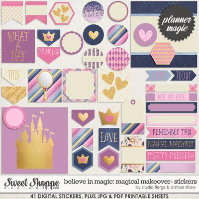 Believe In Magic: Magical Makeover Planner Magic by Amber Shaw & Studio Flergs