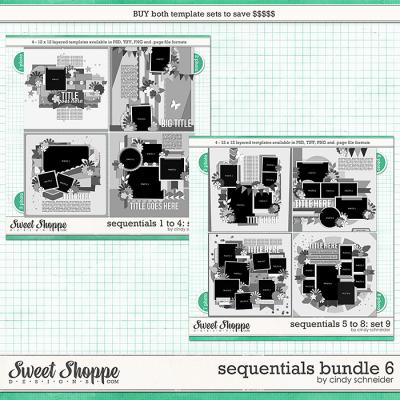 Cindy's Layered Templates - Sequentials Bundle 6 by Cindy Schneider