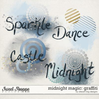 Midnight Magic: Graffiti by Dream Big Designs