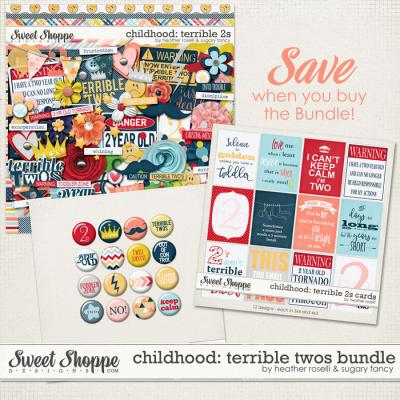 Childhood: Terrible 2s Bundle by Heather Roselli & Sugary Fancy
