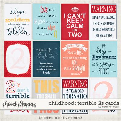 Childhood: Terrible 2s Cards by Heather Roselli