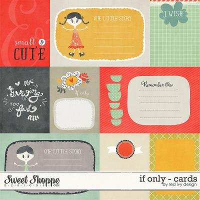 If Only - Cards - by Red Ivy Design