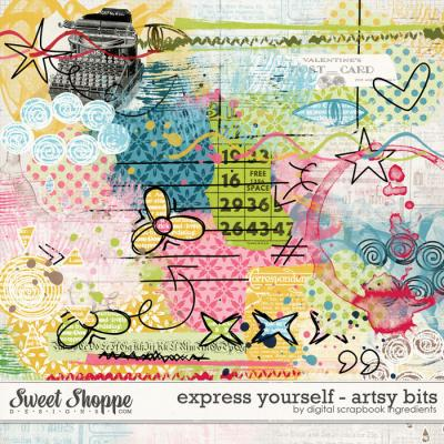 Express Yourself | Artsy Bits by Digital Scrapbook Ingredients