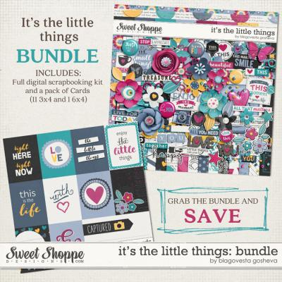 It's the little things {bundle} by Blagovesta Gosheva