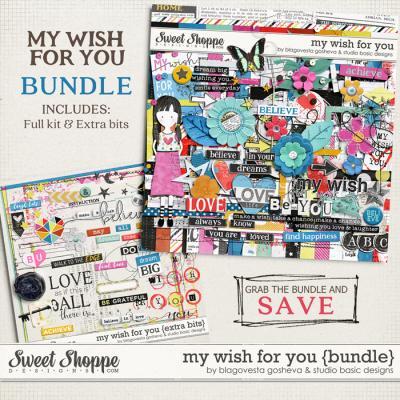 My Wish For You {bundle} by Blagovesta Gosheva and Studio Basic