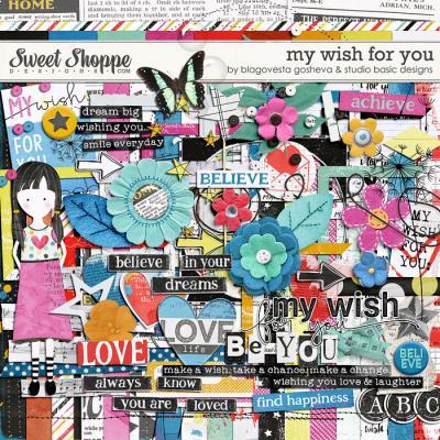 My Wish For You {kit} by Blagovesta Gosheva and Studio Basic