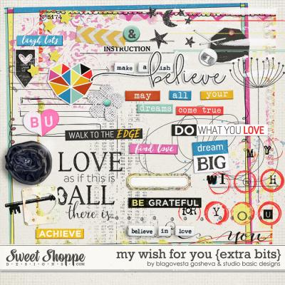 My Wish For You {extra bits} by Blagovesta Gosheva and Studio Basic