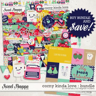 Corny Kinda Love-Bundle by Amanda Yi & Meghan Mullens