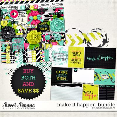 Make It Happen-Bundle by Meghan Mullens