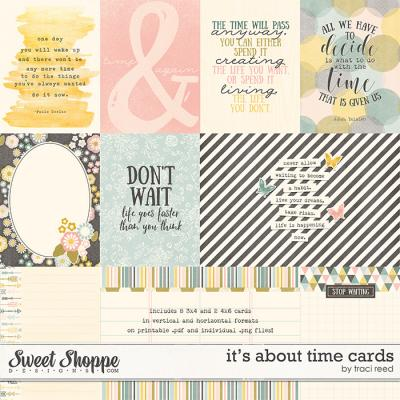 It's About Time Cards by Traci Reed