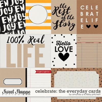 Celebrate: The Everyday : Cards by Amanda Yi & Libby Pritchett