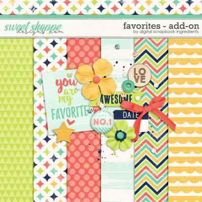 Favorites Add-On by Digital Scrapbook Ingredients