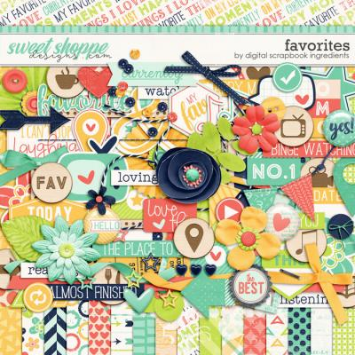Favorites by Digital Scrapbook Ingredients