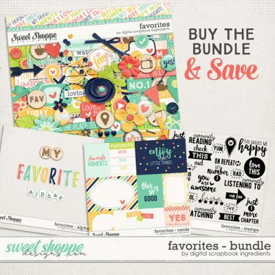 Favorites Bundle by Digital Scrapbook Ingredients