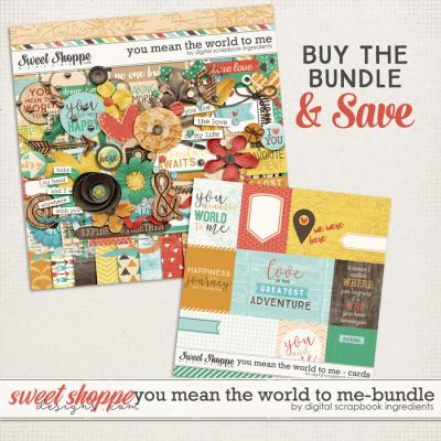 You Mean The World To Me Bundle by Digital Scrapbook Ingredients