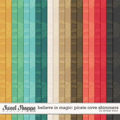 Believe In Magic: Pirate Cove Shimmers by Amber Shaw
